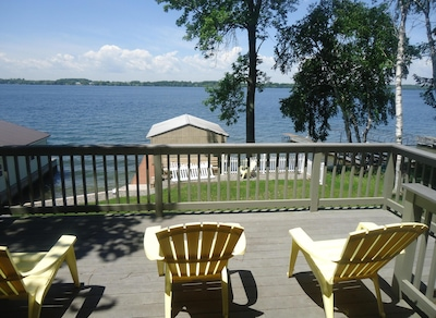 Breathtaking View, Waterfront Cottage on Mainland, Clayton, 1000 Islands