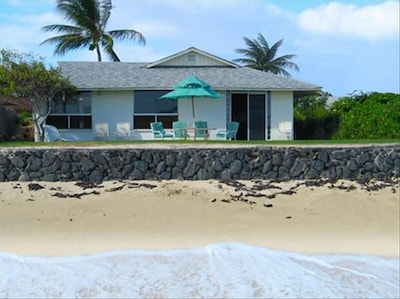 The Beach is your backyard here at Hale Kai Ewa!!