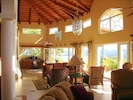 Over 55 feet of Living Room Area with Incrdible Views