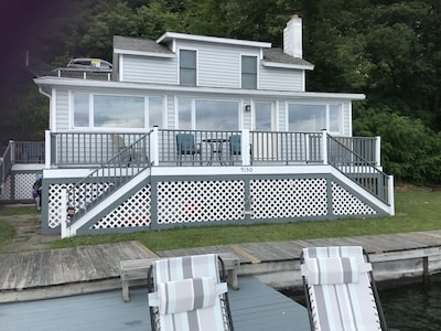 Lakefront Living!  Relax and enjoy our beautiful cottage.