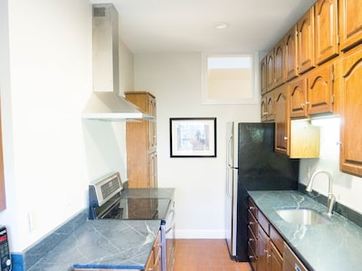 Galley Kitchen off of Living Room (Lower Level)