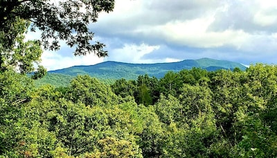 Long range views from the back porch swing!