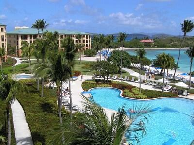 Ritz-Carlton Club Pools and Beach - Fantastic