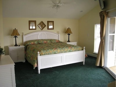 Master Bedroom, Ocean View with private bath