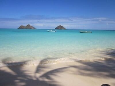 lovely lanikai beach