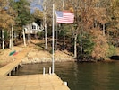 View of house from boat dock
