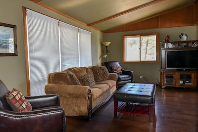 Roll out sofa in living room