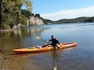 Fantastic kayaking from the lakeshore
