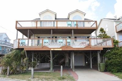 Oceanfront E10, corner lot, 2 entrances