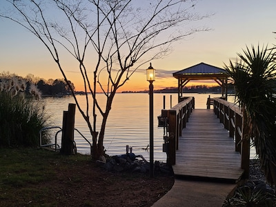 Take a swim, enjoy your covered lighted dock. Board the canoe or rent a boat.