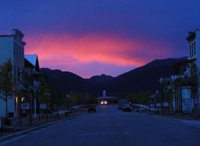 Sunset on South Main