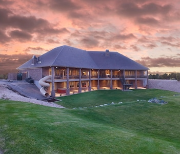 Luxurious Beaver Mountain Lodge.