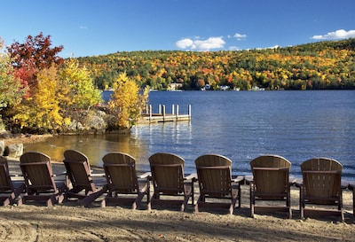 Relax by the lake and enjoy the view!