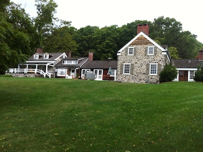 Front of the farm house
