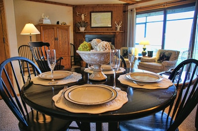 Choose a home cooked meal at beautiful 328 or try one of many local restaurants.