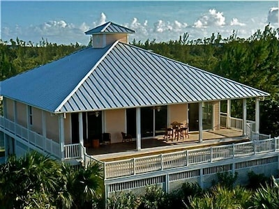 Aerial View of the Beautiful Bahama House