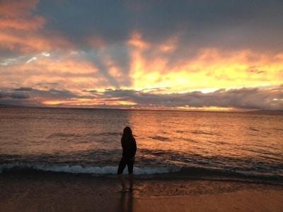 Breath Taking Sunset's every night at the Maui Sunset in Kihei Maui Hawaii