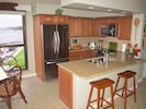 Gourmet kitchen completely remodeled in 2012