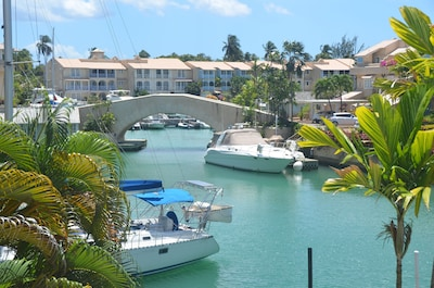 Enjoy a view of the Lagoon, private plunge pool and beach access