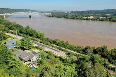 Completely private property with robust river view.