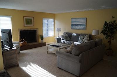 Living Room w/ Sleep Sofa