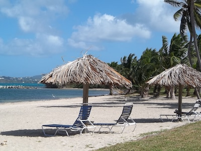 Sugar Beach, Christiansted, St. Croix Island, U.S. Virgin Islands