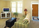 suite 1 living room and extra sleeper sofa