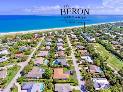 A private gated community with exclusive beach access