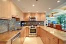 Kitchen from refrigerator.