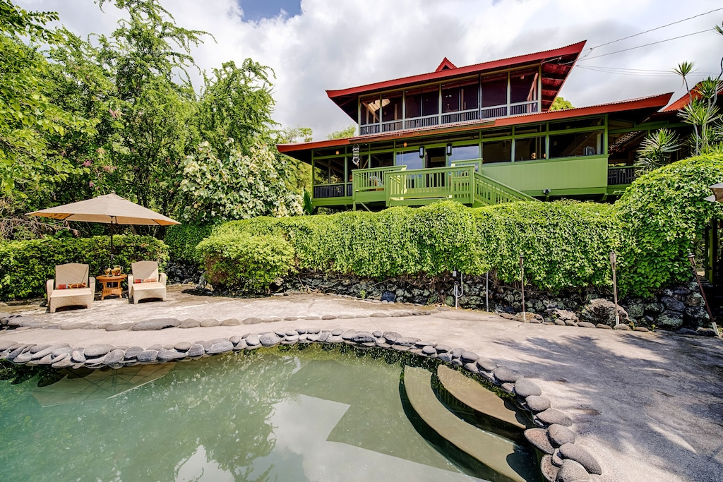 Unique house rental in Hawaii