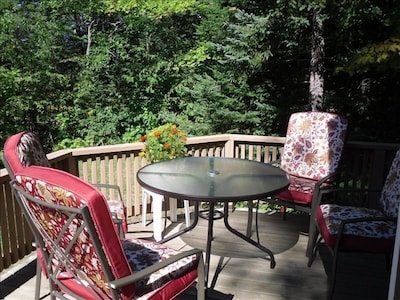 Relax on the Ridge Road Cabin deck