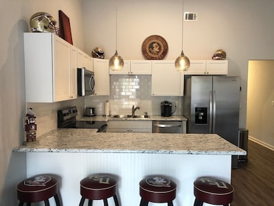 Beautifully renovated unit with brand new flooring, cabinets and appliances.