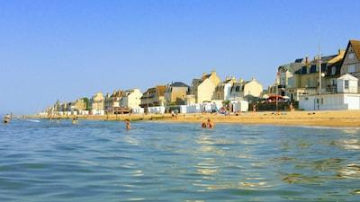 la plage en juin 2017