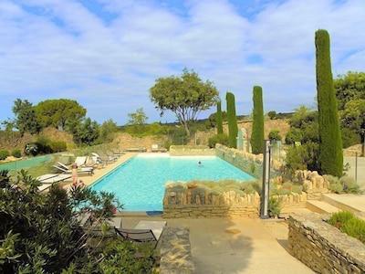 la piscine commune