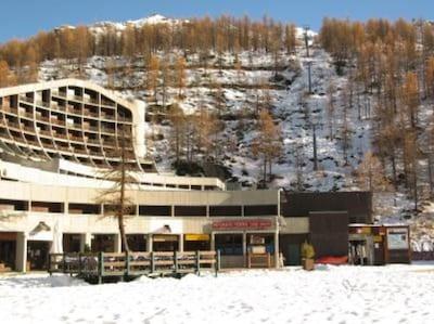 Campetto - Plan Torrette Ski Lift, Cervinia, Valle d'Aosta, Italy