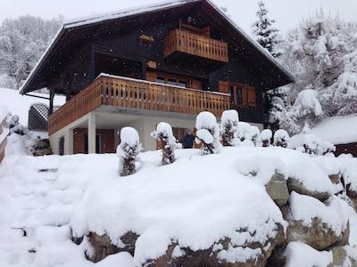 La neige en abondance