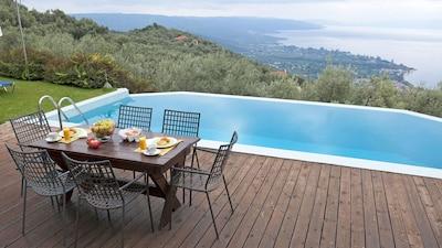 Terrasse magnifique vue