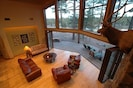 Accordion doors opened all the way up to Large Deck on Golf Course with Views