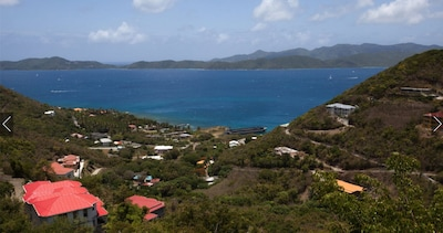 View over St. John and St. Croix, from all rooms and balconies