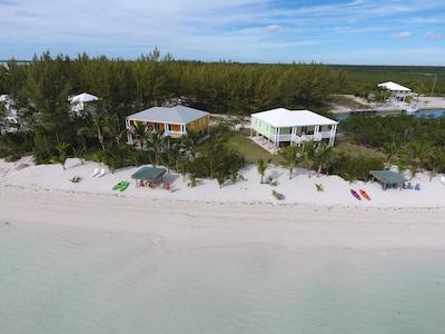 Aerial of Mango and Key Lime Beach Homes
