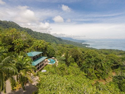 Casa Alta Vista Sits On The Side Of The Mountain Surrounds by Tropical  Gardens