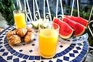 Breakfast on the balcony...