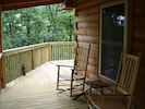 Enjoy the Rocking Chairs under the shelter of the porch!