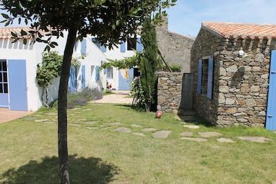 maison et annexe