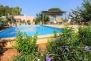 Curlo-Pool hinter dem Haus mit Liebeplatz