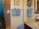 This is the first master suite bath with walk in shower.