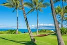 Looking Out Across the Expansive Beach Side Property of Wailea Sunset Estate