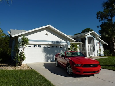 Your vacation home in Lehigh Acres on the Gulf of Mexico in Florida, USA