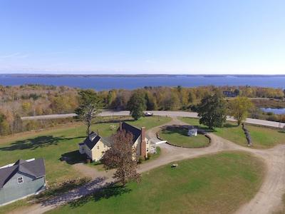 Aerial Photo of the Inn