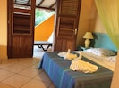 Grande chambre  n.2 terrasse privée vue mer  /salle de bain privée